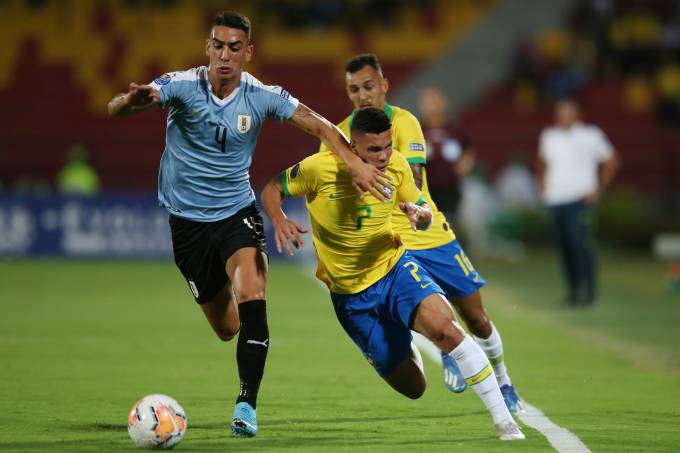 South American Olympic Qualifiers – Brazil v Uruguay